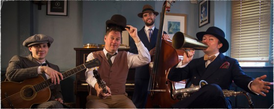 The Jazz spivs are a highly authentic Roaring Twenties band in the UK.