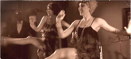 1920s Flapper Girls with the Jazz Spivs - Britain's top Roaring Twenties Band