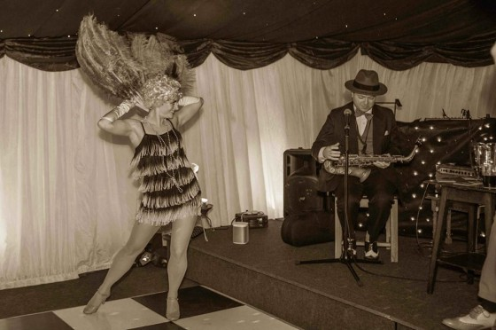 The Silk Street Flappers and Jazz Spivs perform together at 1920s themed birthday parties