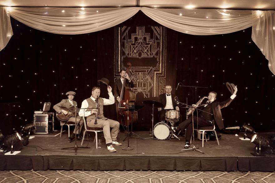 Jazz Spivs Vintage 1920s Band