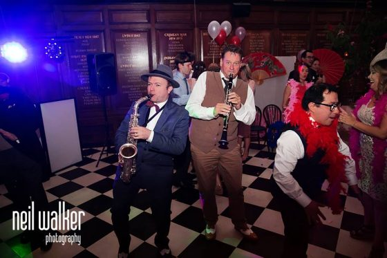 1920s jazz themed wedding of Marie-Louise and Nicholas